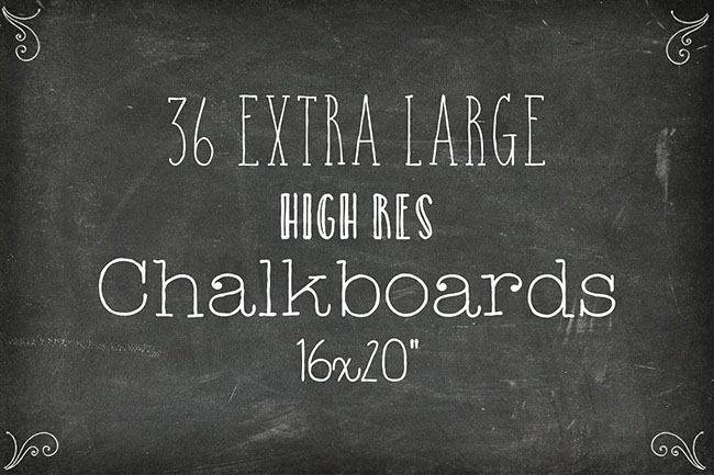 Free Chalkboard Background Designs