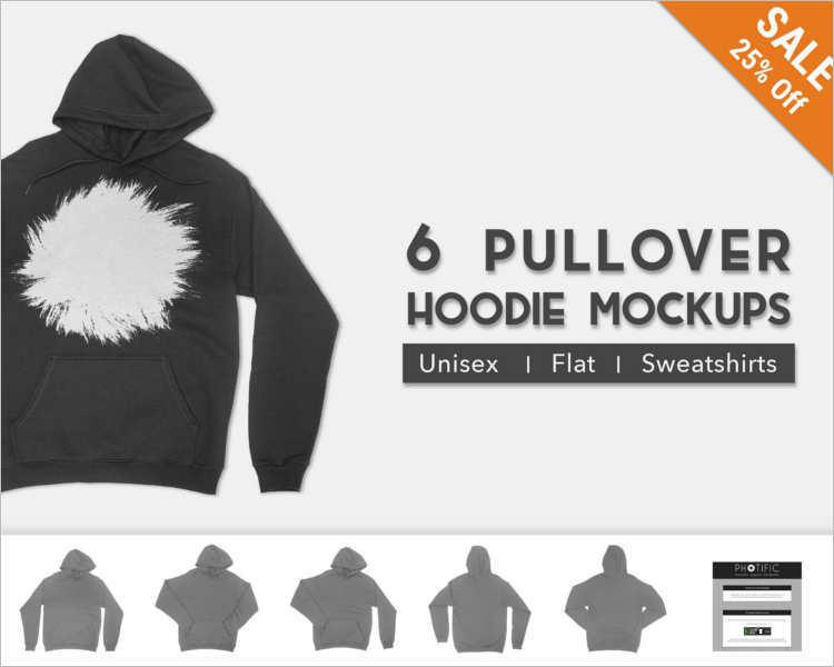 Free Hoodie PSD Mockup