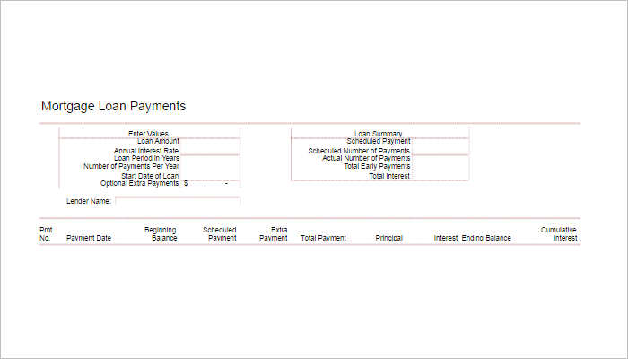 free-loan-amortization-schedule-templates