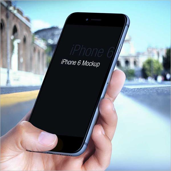 Free iPhone 6 Mockup Design