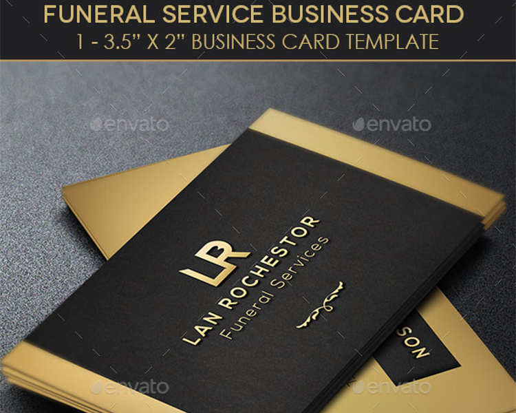funeral-service-business-card-templates