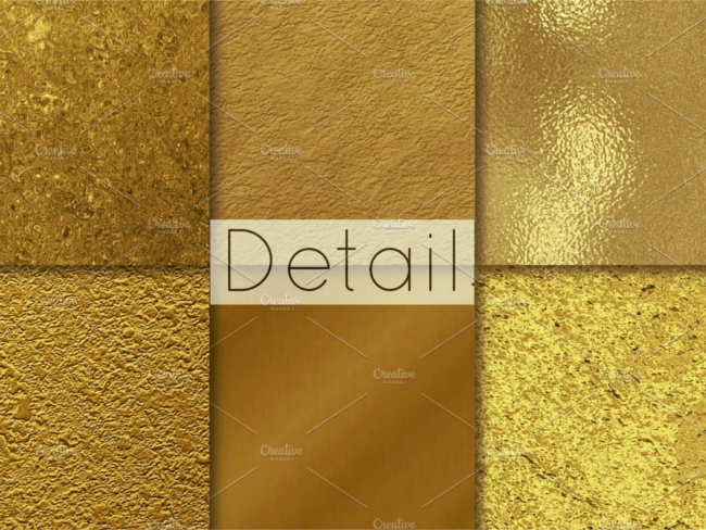 Gold Rush Texture Design