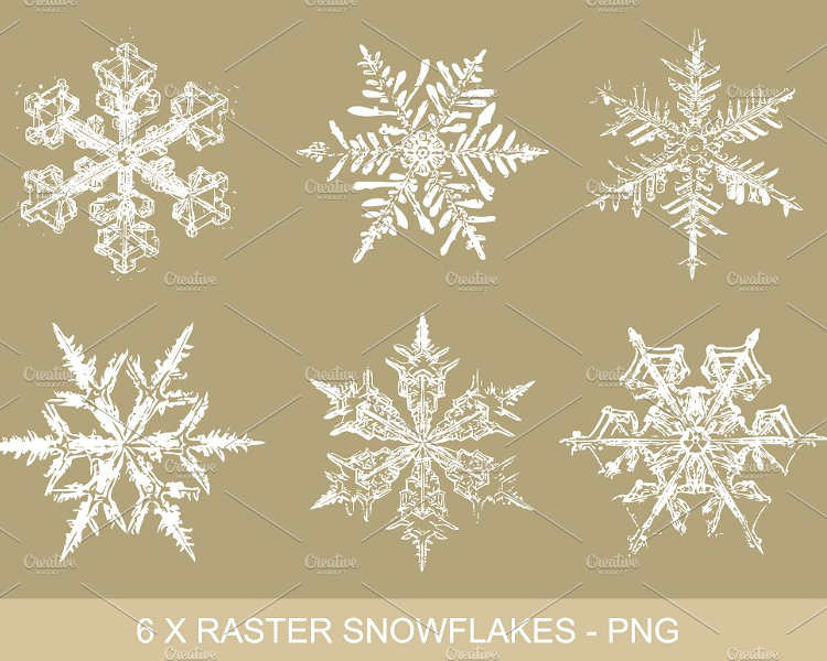 gold-snowflakes-vector-design-clipart