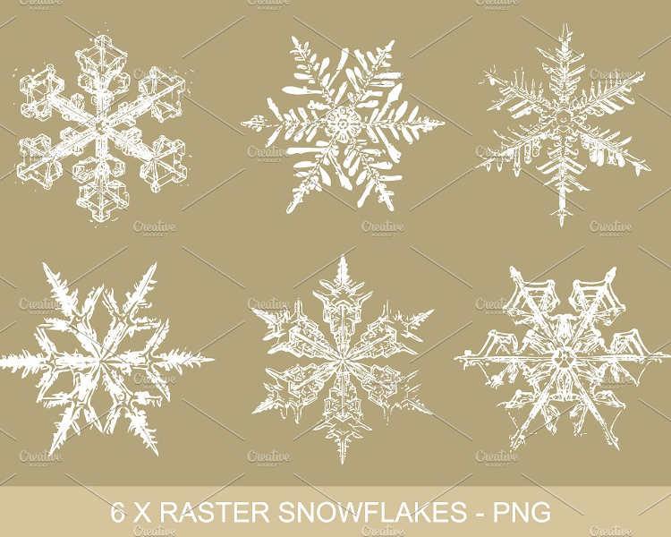 gold-snowflakes-vector-design-clipart