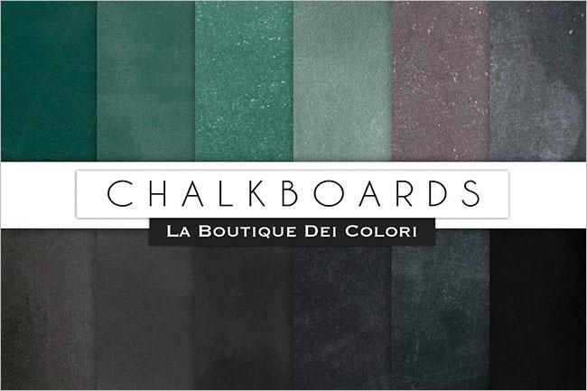 Green Chalkboard Background Design