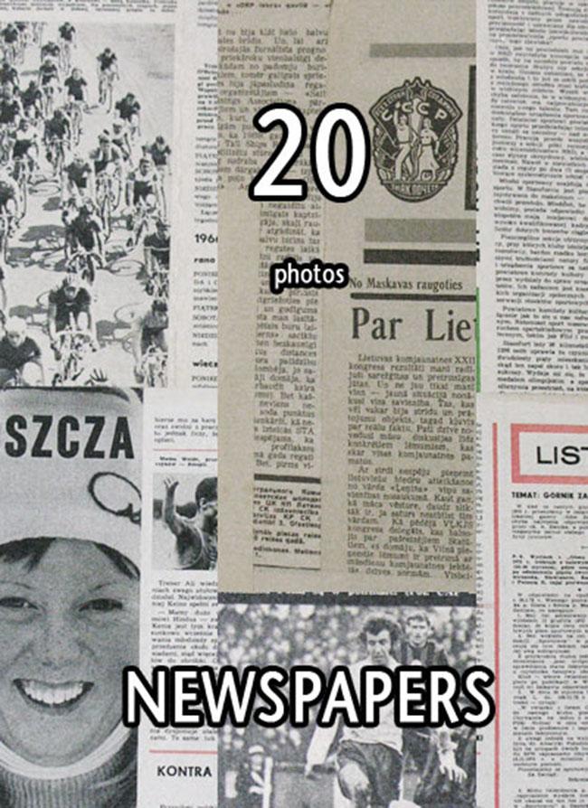 Grunge Photoshop Newspaper Texture