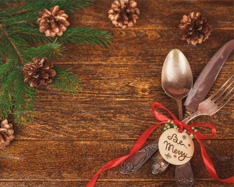 Holiday Place Setting Templates