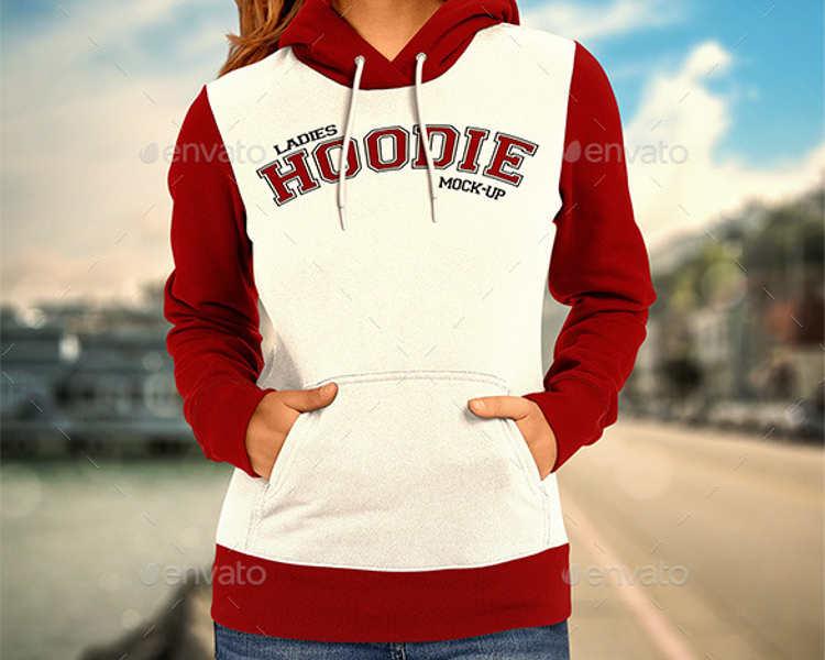 Hoodie Logo PSD Mockup