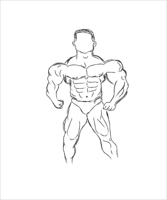 Illustration Body Outline Templates