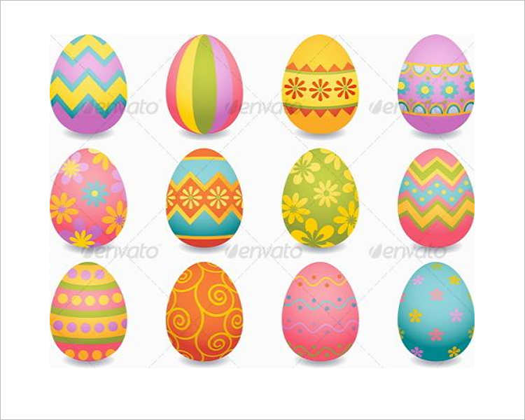 Illustration Easter Egg Design