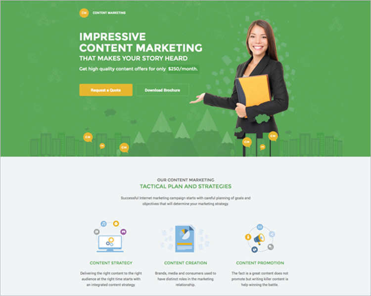 impressive-marketing-landing-page-templates