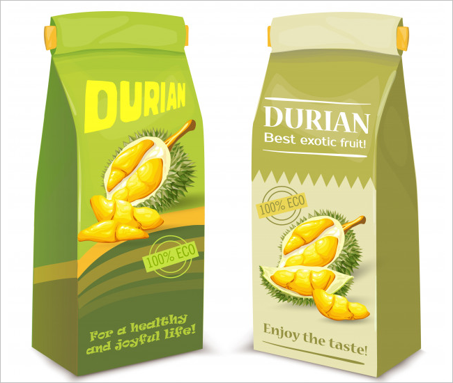 Juice Packaging Mockup Free Vector