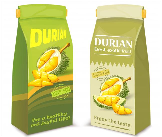 Juice Packaging Mockup Free Vector