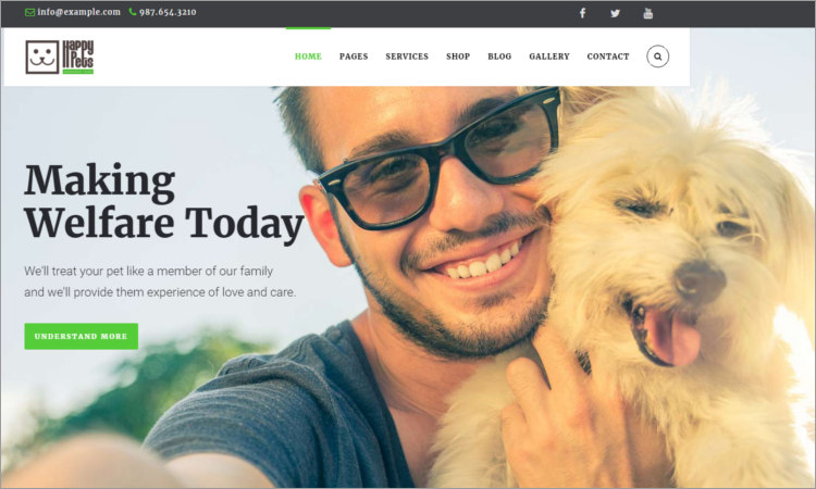 Kennel Club WordPress Themes