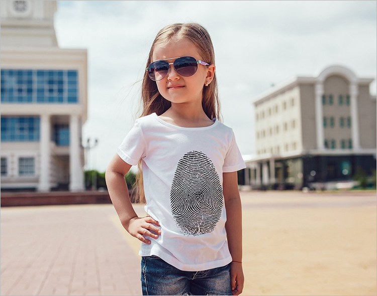 Kids T-Shirt Mockup Design