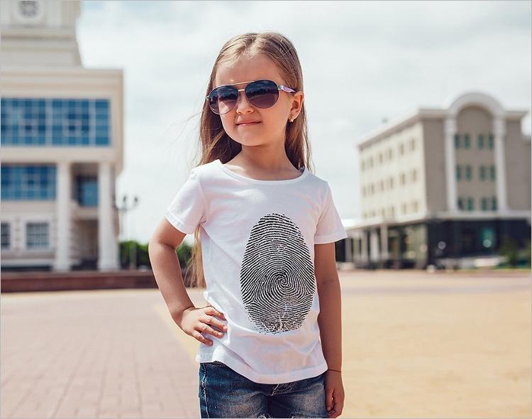 Kids T-Shirt Mockup Design