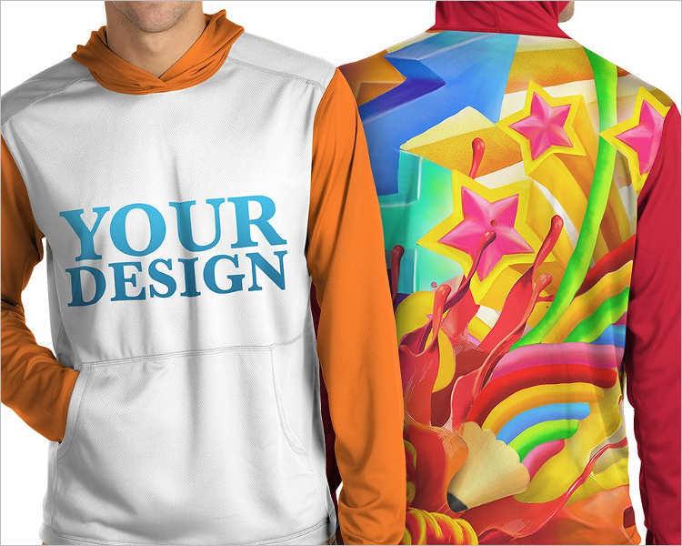Download 92+ Free Hoodie Mockups PSD Design Templates