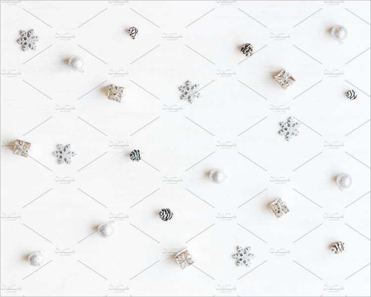 Minimal Christmas decoration Design