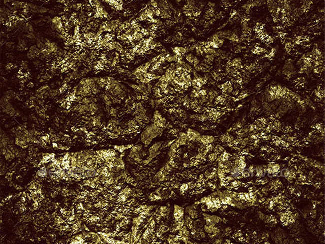 Minimal Gold Texture Design