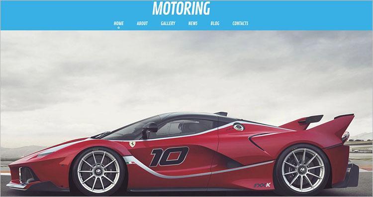 Motorcycle Idea WordPress Theme