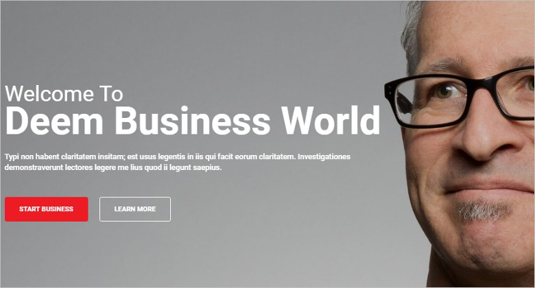 Multipurpose Business Bootstrap Theme