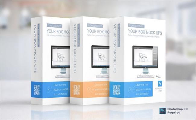 Multipurpose Packaging Mockup Design