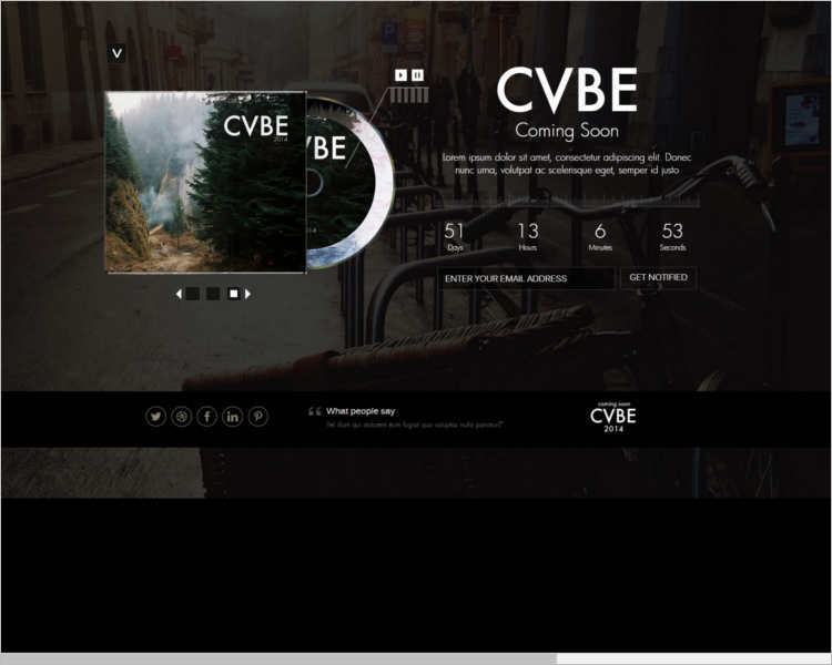 music-coming-soon-landing-page-templates