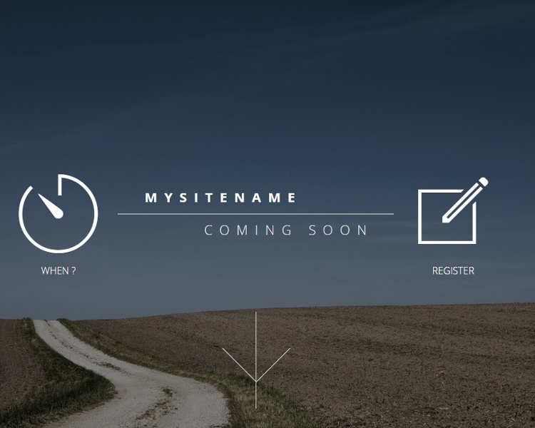 mysitename-coming-soon-landing-page-templates