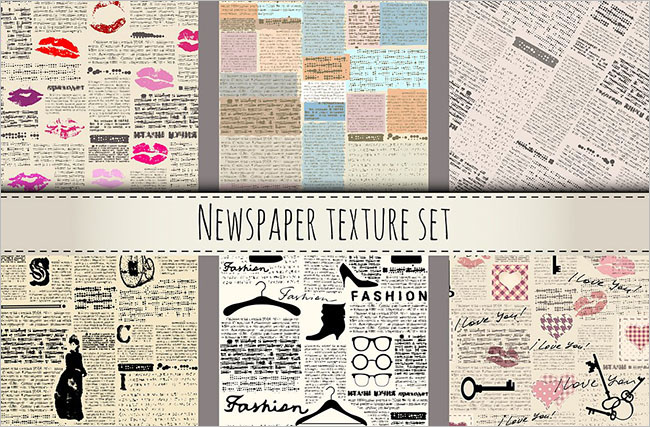 Newapaper Gray texture design