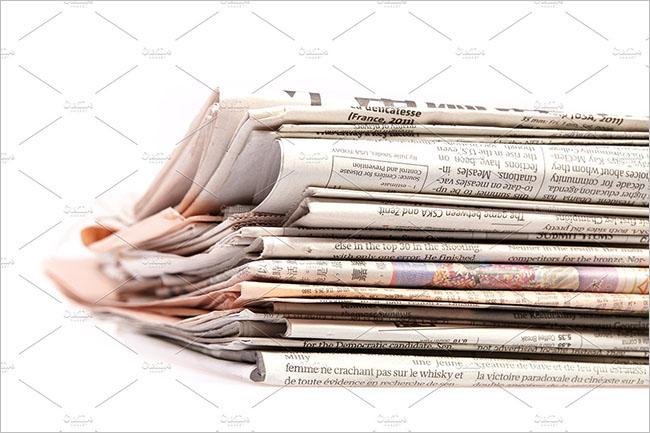 Newspaper Overlay Texture design