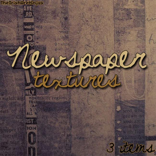 Newspaper Texture Design Free download