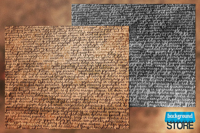Newspaper Typography Texture