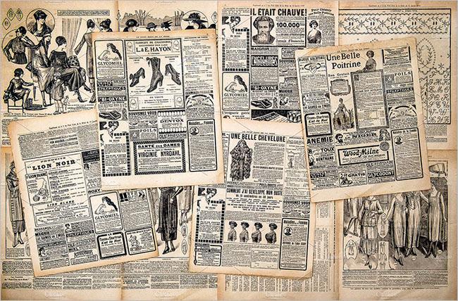 Newspaper deviantart Texture Design