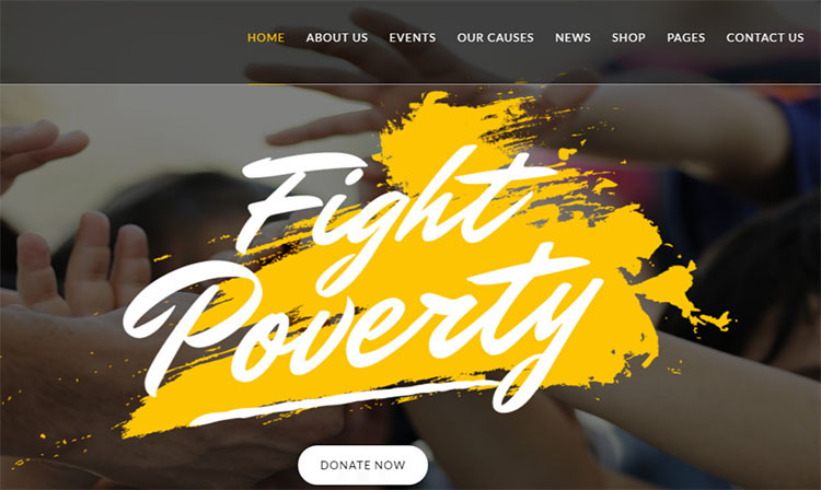 Non Profit Auction WordPress Themes
