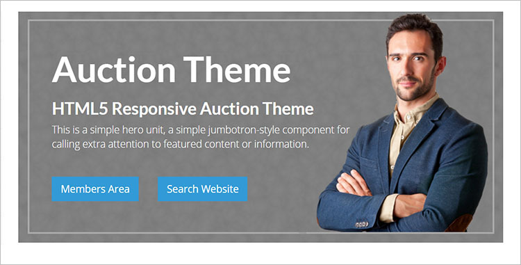 Nulled Auction WordPress Themes