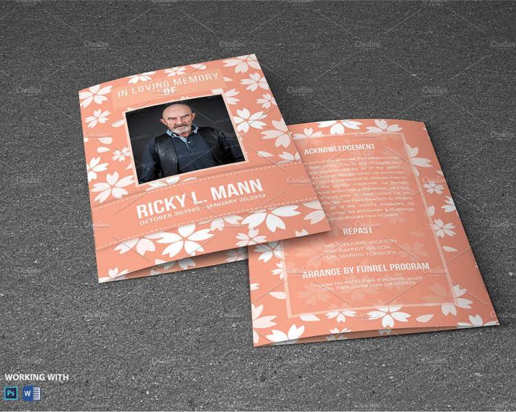 obituary-funeral-program-templates