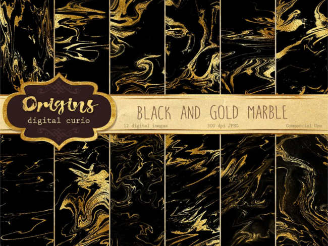 Origins Digital Gold Texture