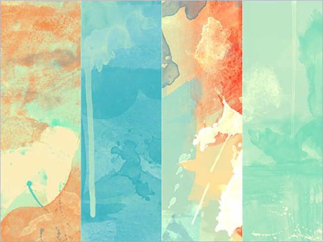 Paintable Water color Texture Design