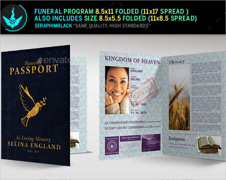57+ Funeral Program Templates Free Word, PDF, PSD, Doc Samples