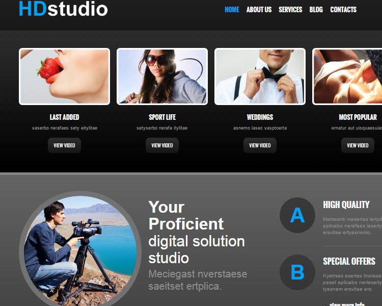 Photo Studio Joomla Theme Templates