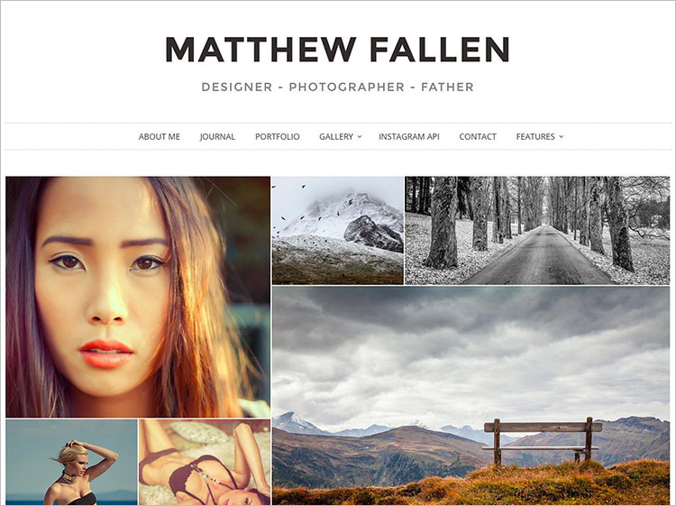 Photography WordPress Theme Templates