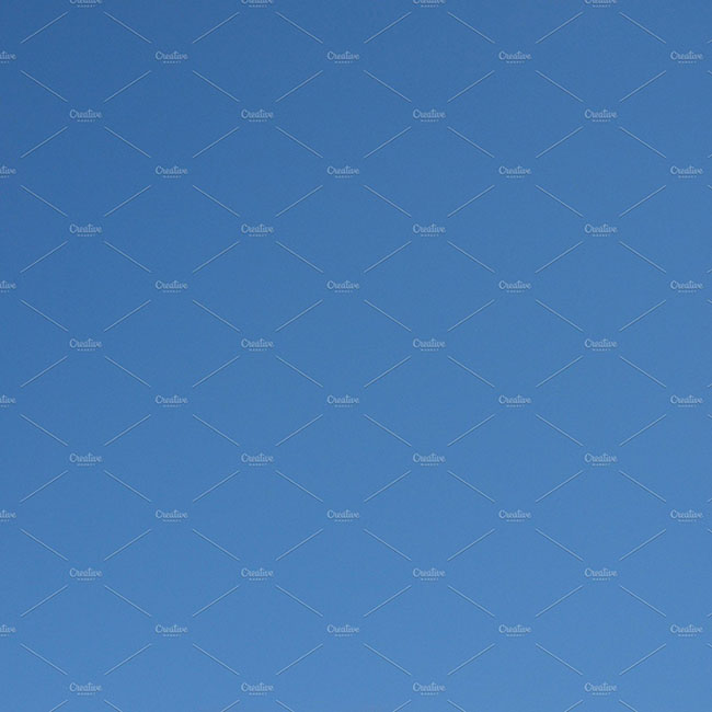 Plain Blue sky Background Design