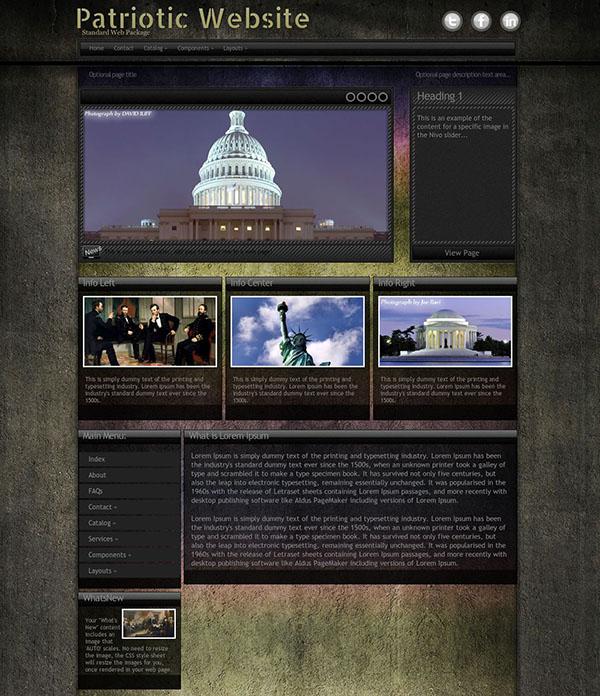 Premium Patriotic WordPress Themes & Templates