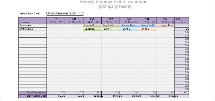 47 Hourly Schedule Templates Free Excel Word Doc Pdf Download