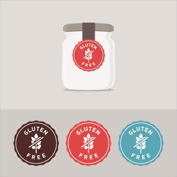Printable Organic Bottle Lable