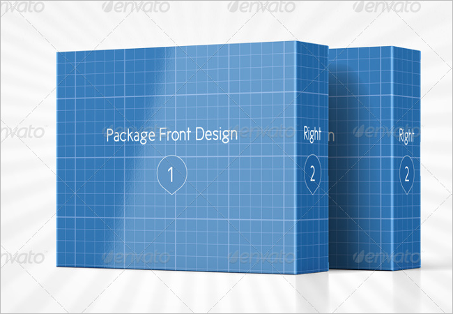Product Packaging Mockup Design PSD