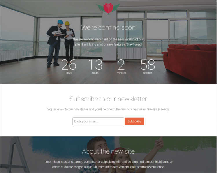 responsive-best-coming-soon-landing-page-templates
