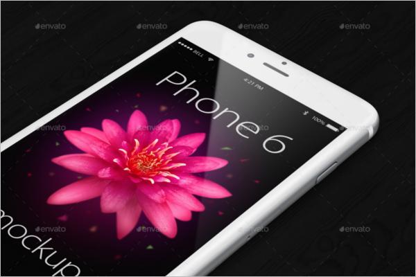 Responsive iPhone 6 Mockup Design