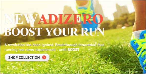 Running Sports Shoes Magento Theme