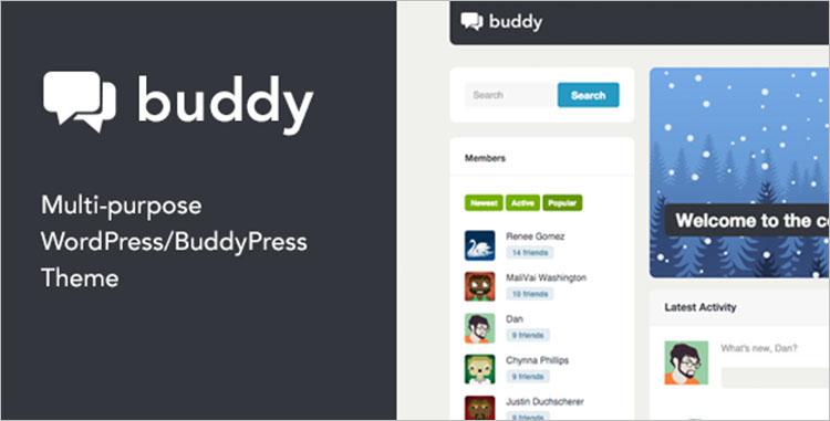 Sample BuddyPress Themes & Templates